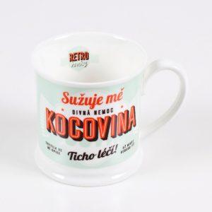 "Retro hrnek ""Kocovina"""