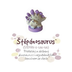 Dino pokladnička - Štěpánosaurus