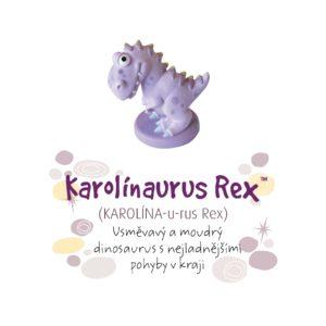 Dino pokladnička - Karolínaurus Rex