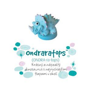 Dino pokladnička - Ondraratops