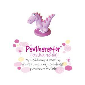 Dino pokladnička - Pavlínaraptor