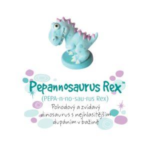 Dino pokladnička - Pepannosaurus Rex