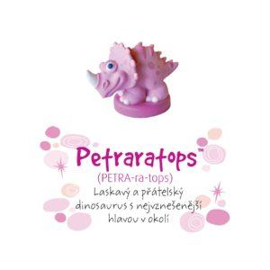 Dino pokladnička - Petraratops