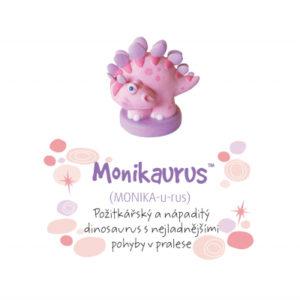 Dino pokladnička - Monikaurus ALBI
