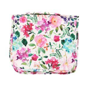Závěsná kosmetická taška - Hortenzie