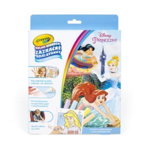 Zázračné omalovánky - Disney Princezny - Crayola ALBI