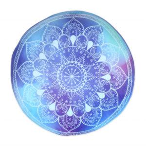 Kulatý polštář - Mandala ALBI