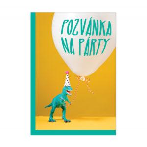 Pozvánky na oslavu - Dinosaurus ALBI