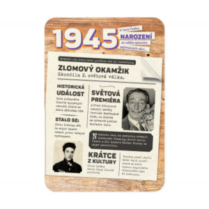 Retro přání - 1945 ALBI