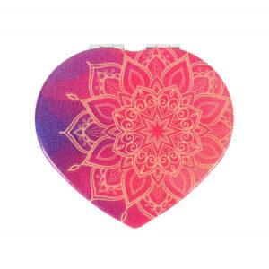 Zrcátko srdce - Mandala ALBI